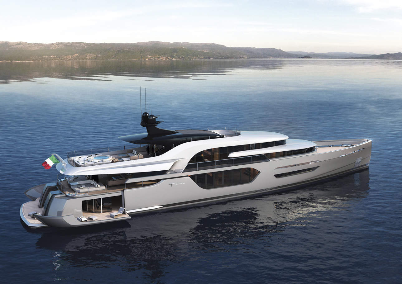 We look and envy: the yacht of the Russian billionaire Melnichenko for 360 million dollars 77