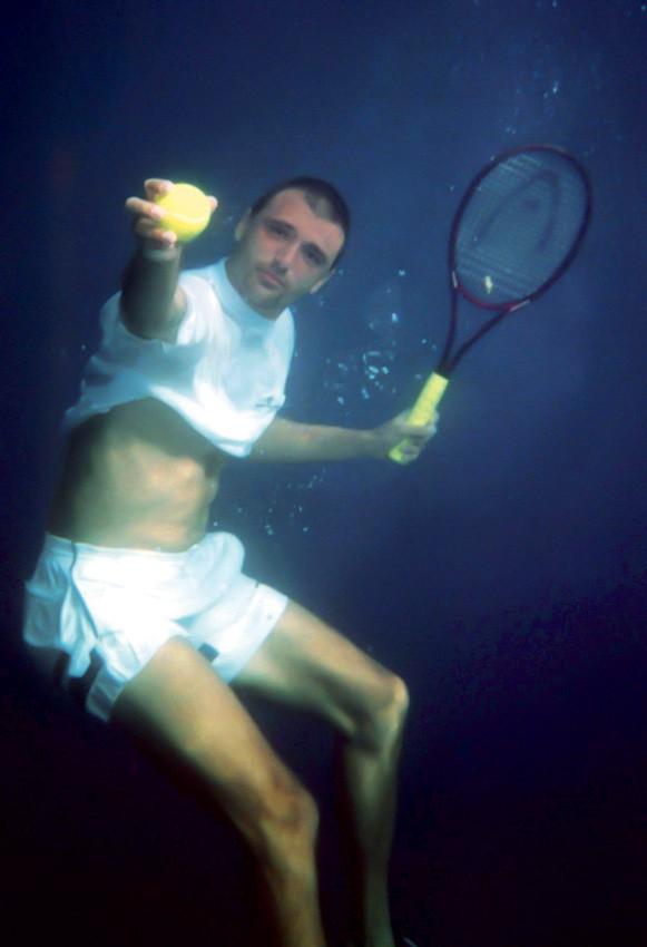The photo that echoed worldwide after Goran Ivanisevic won Wimbledon