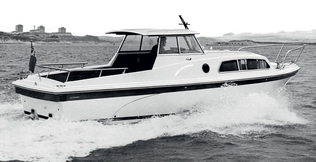 One of the first  Princess Yachts models