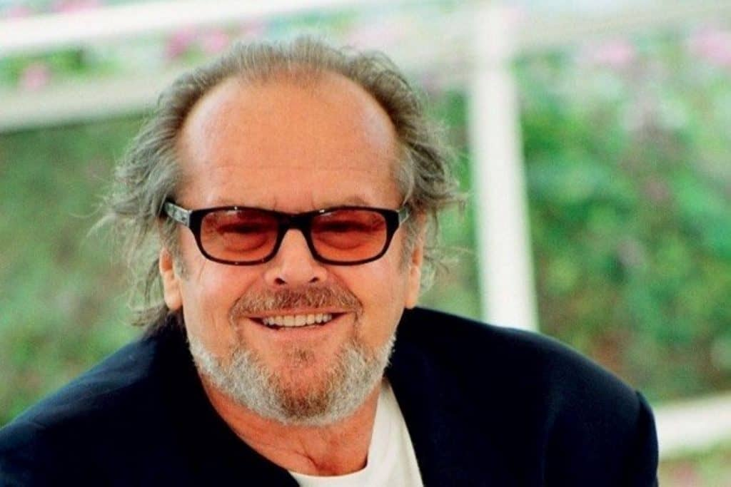 This is a photograph of a Jack Nicholson