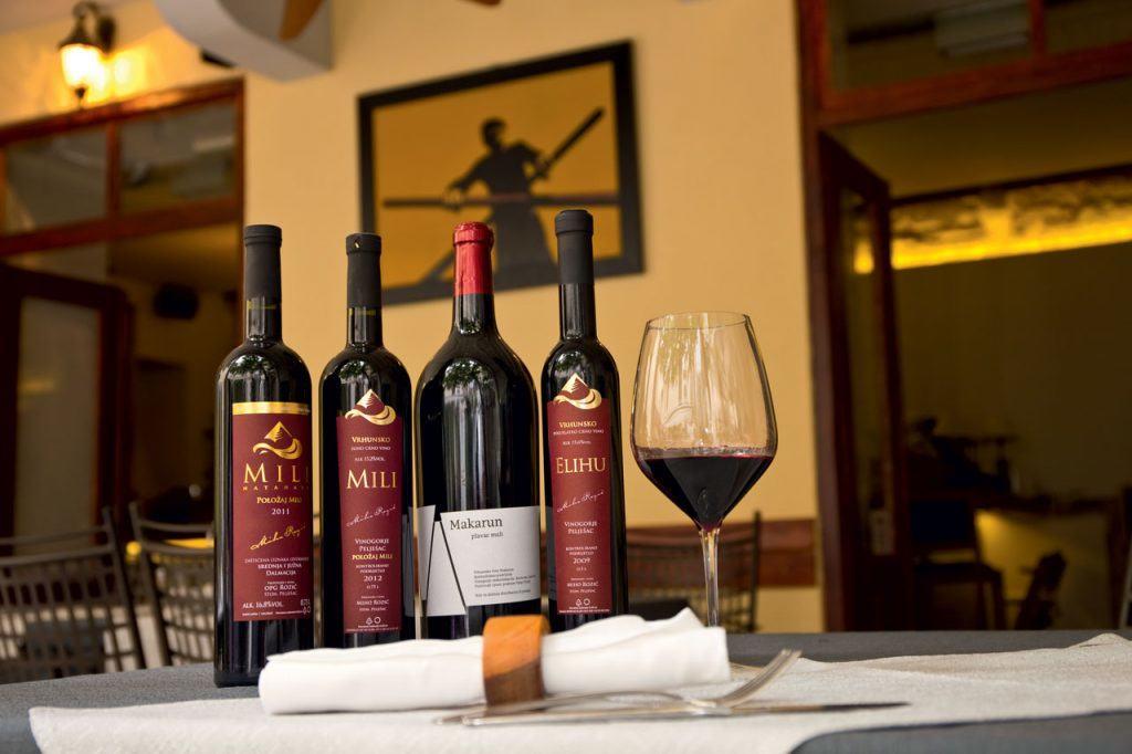 Ovo je fotografija restorana Makarun vinska ponuda