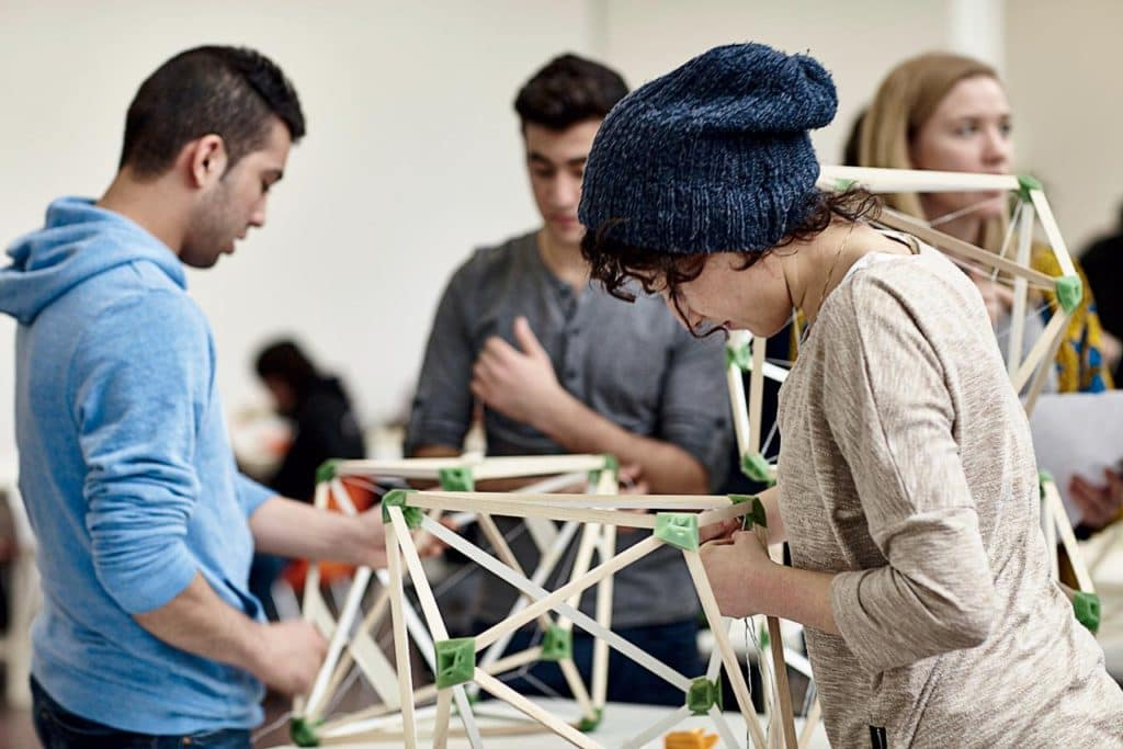 An artistic workshop