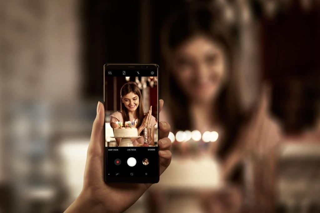 Galaxy Note8 Camera