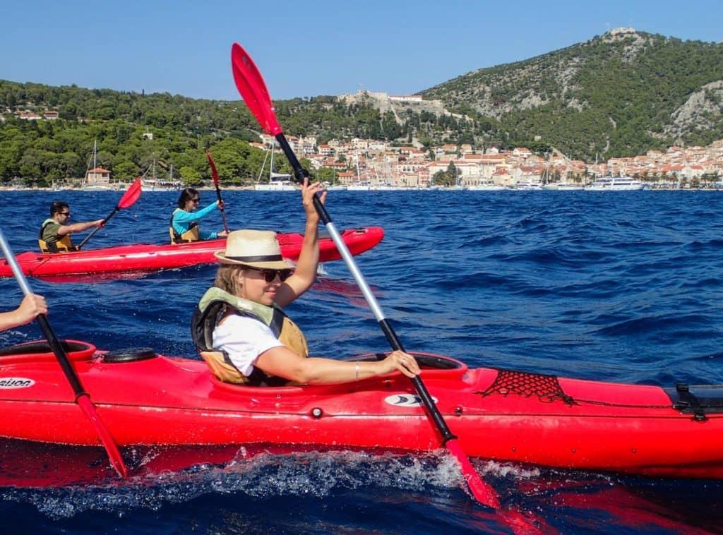 Hvar Sea Kayaking