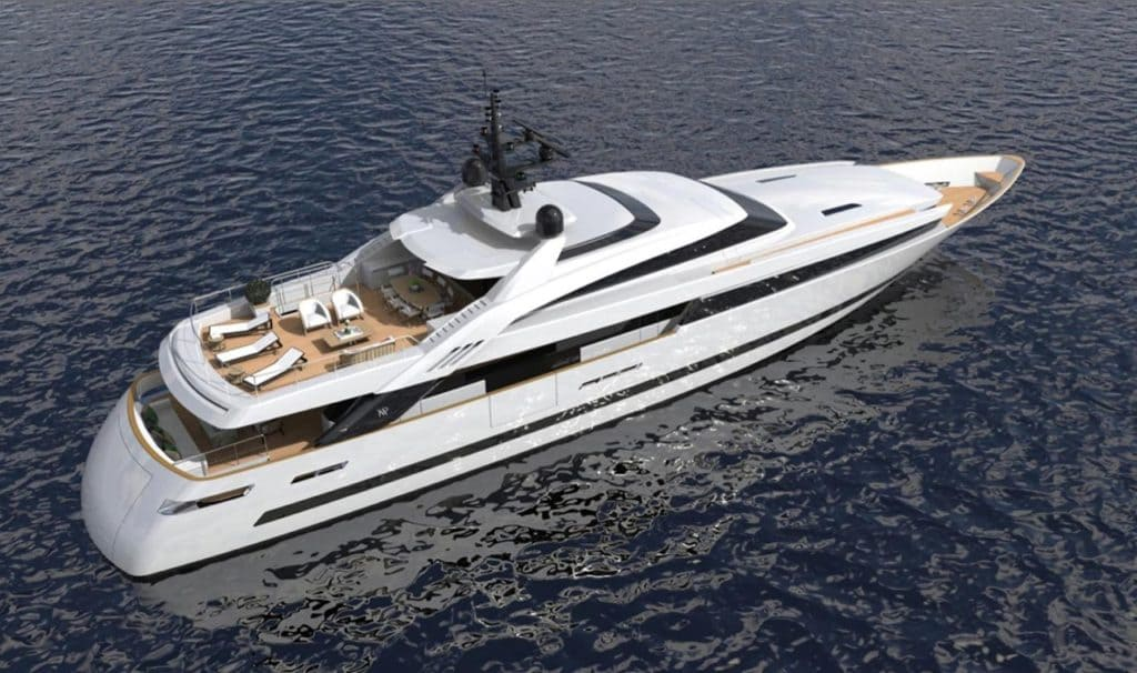 Isa Yachts Project Alloy