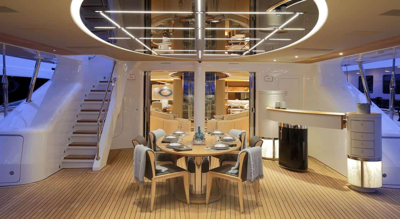 Videoworks latest lighting design project yachts croatia