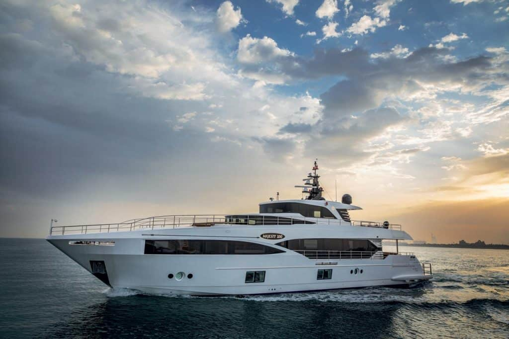 Majesty 100 Gulf Craft