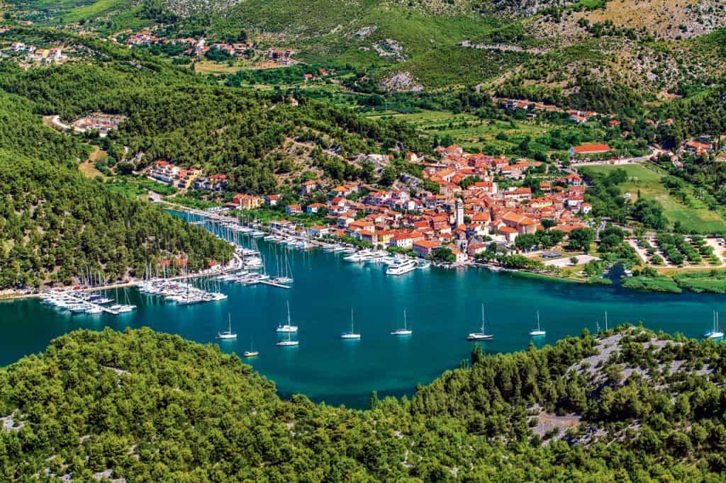 Šibenik archipelago Skradin