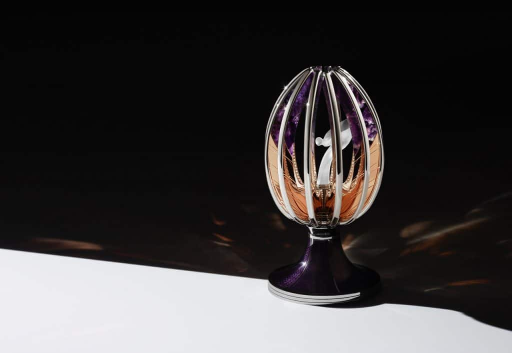 Spirit Of Ecstasy Faberge Egg