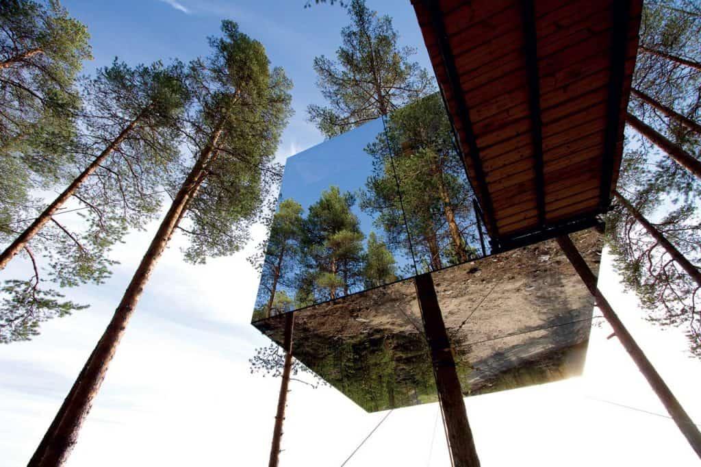 Tree hotel, luksuz u ledu