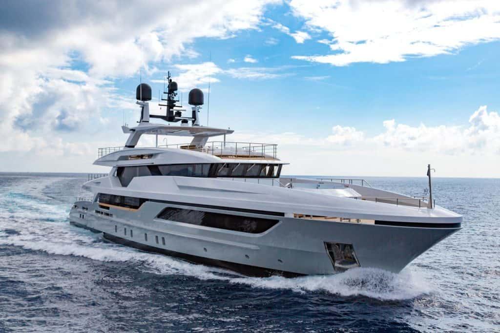 Baglietto MY Silver Fox, Miami Yacht Show 2019
