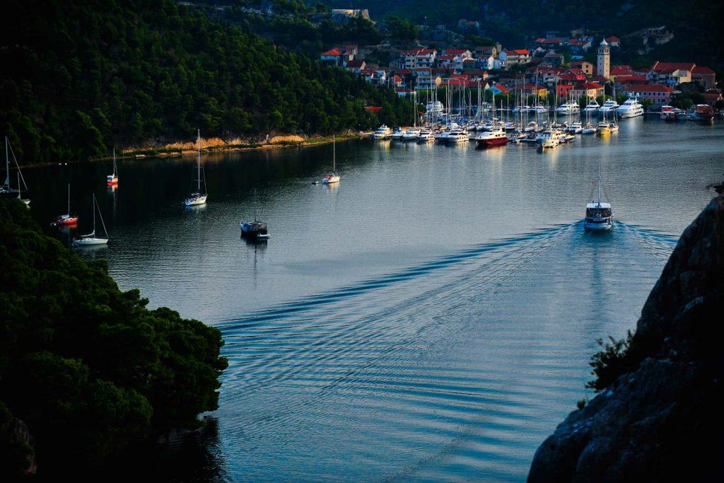 Ovo je fotografija Skradin bridge