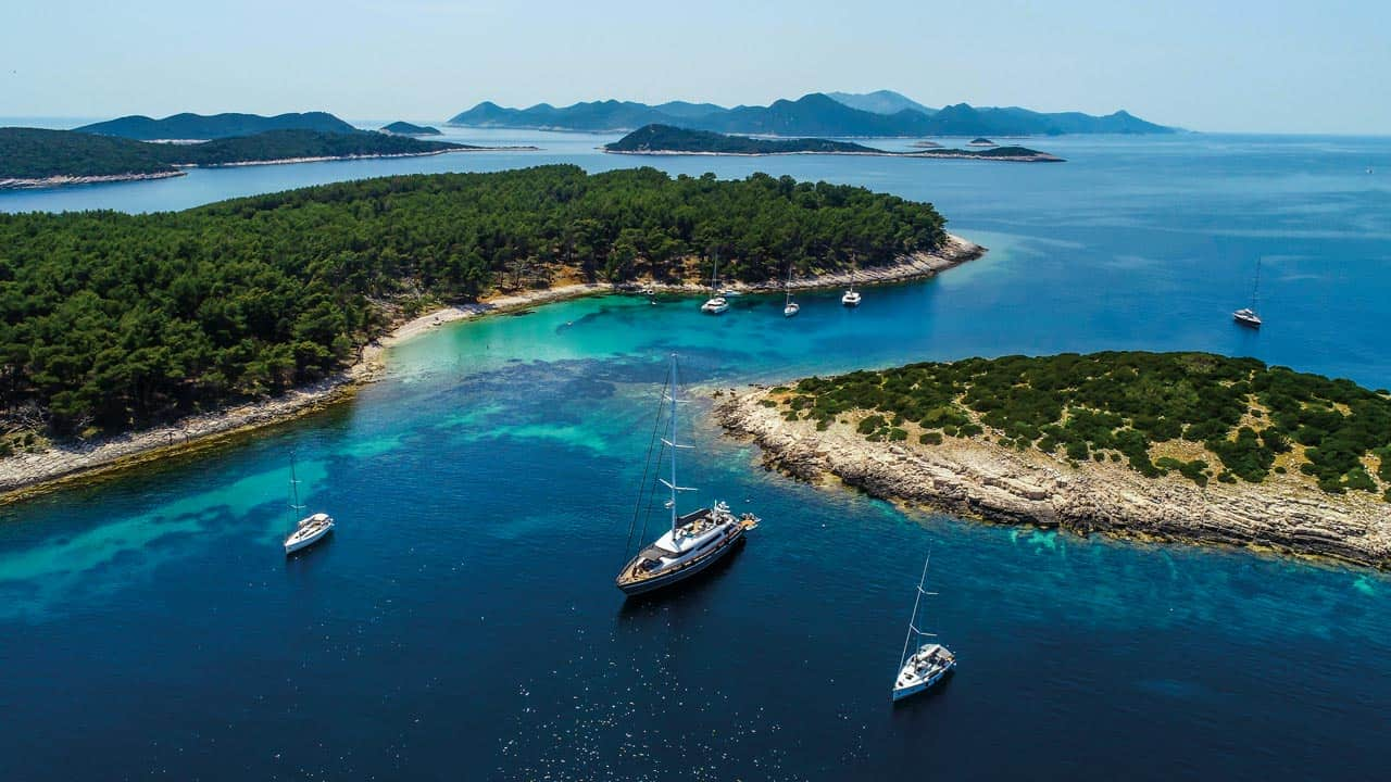 Saplun Bay Croatian Adriatic