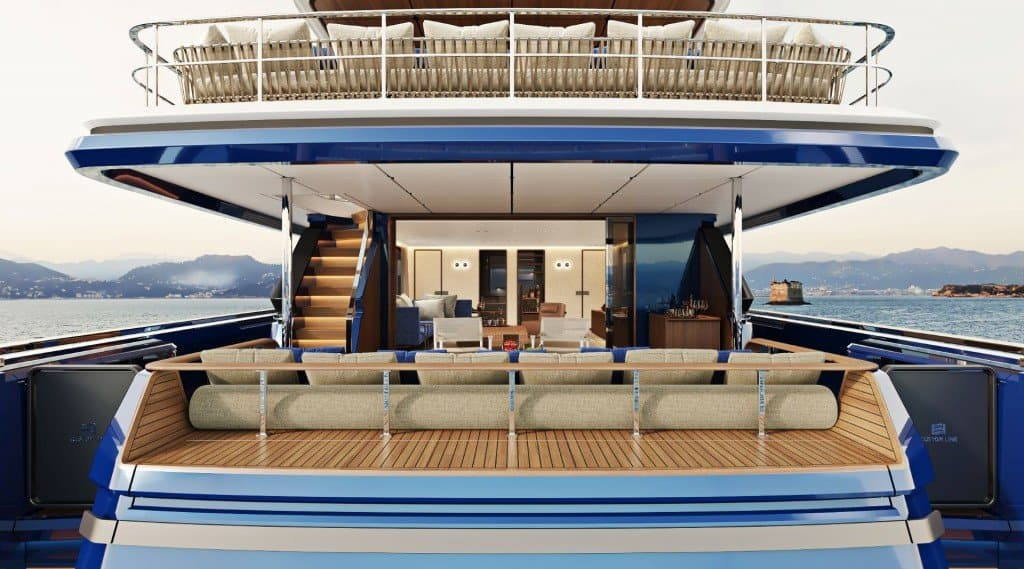 Custom Line Navetta 30 Main Deck 05