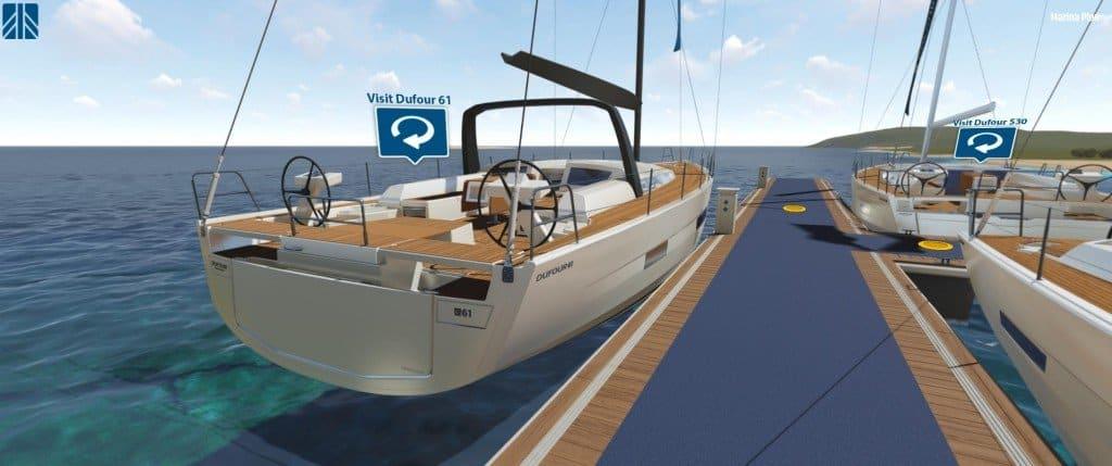 Dufour 61 Virtual Marina 04