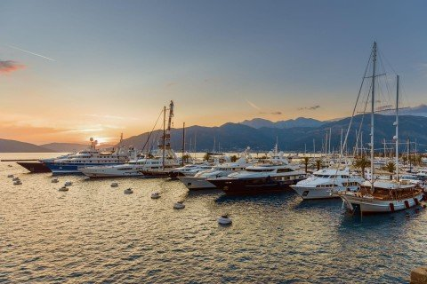 Porto Montenegro Sunset View 00