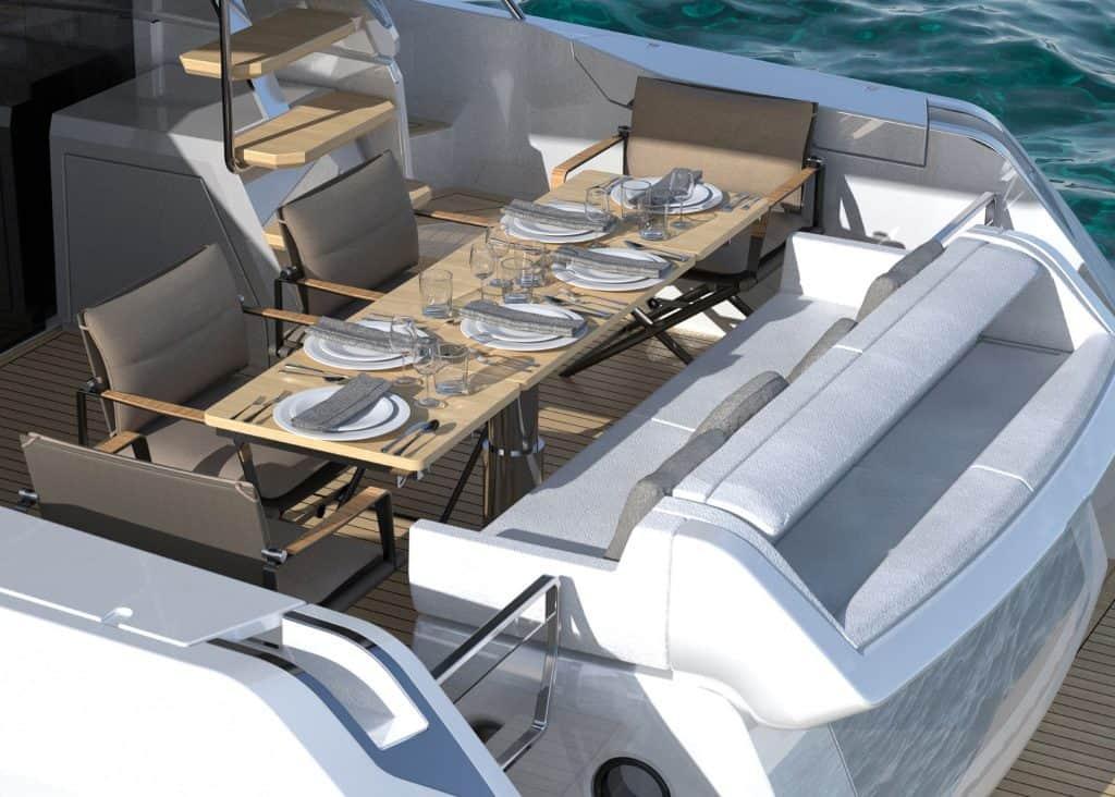 Ferretti Yachts 500 Cocpit 01