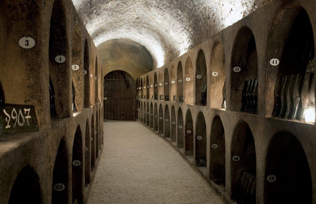 Moet Chandon Caves 01