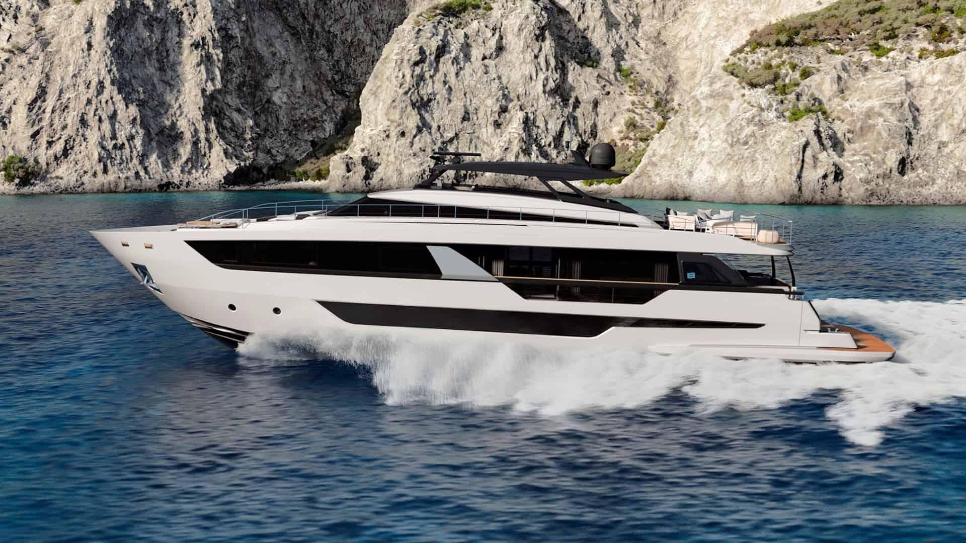 New Ferretti Yacht