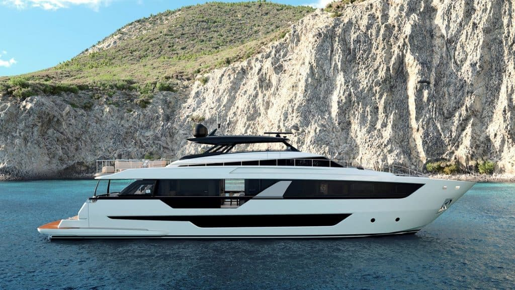 Ferretti 1000 Side View 01