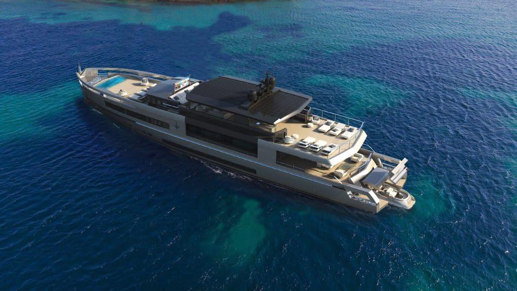 Italian crossover yacht Antonini Navi UP40