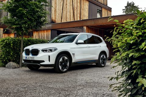BMW iX3 front view-01