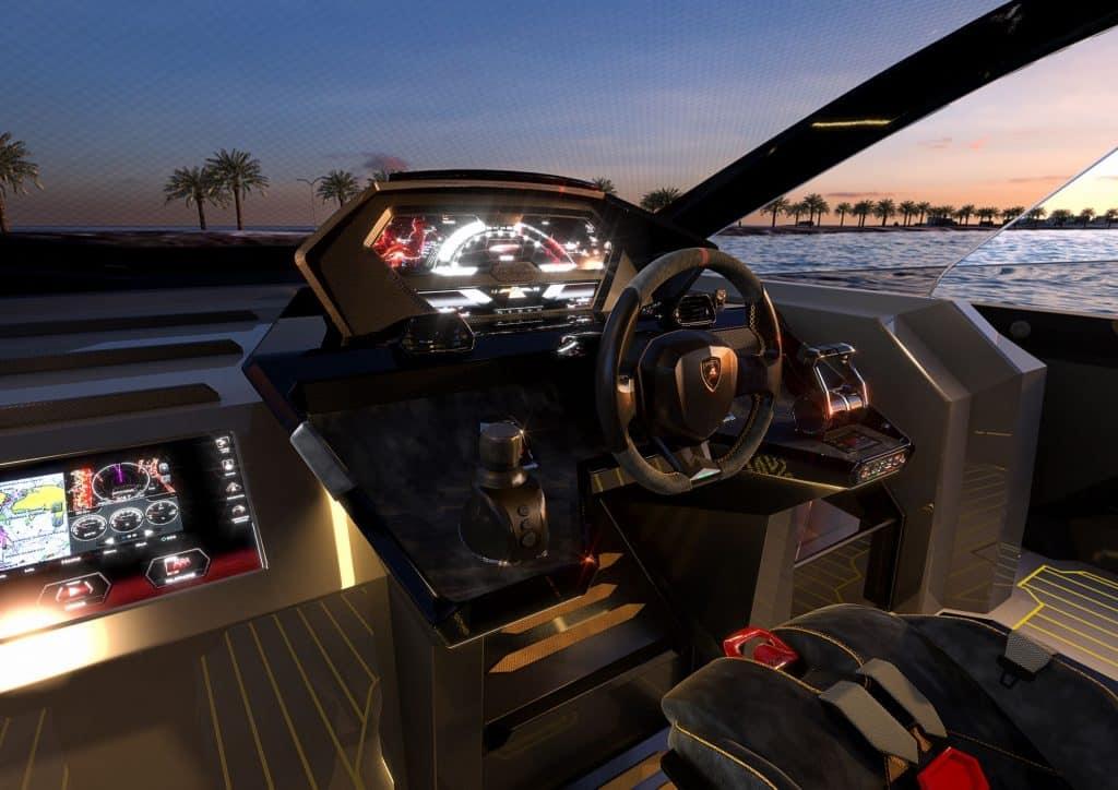 Tecnomar Lamborghini Cockpit 01