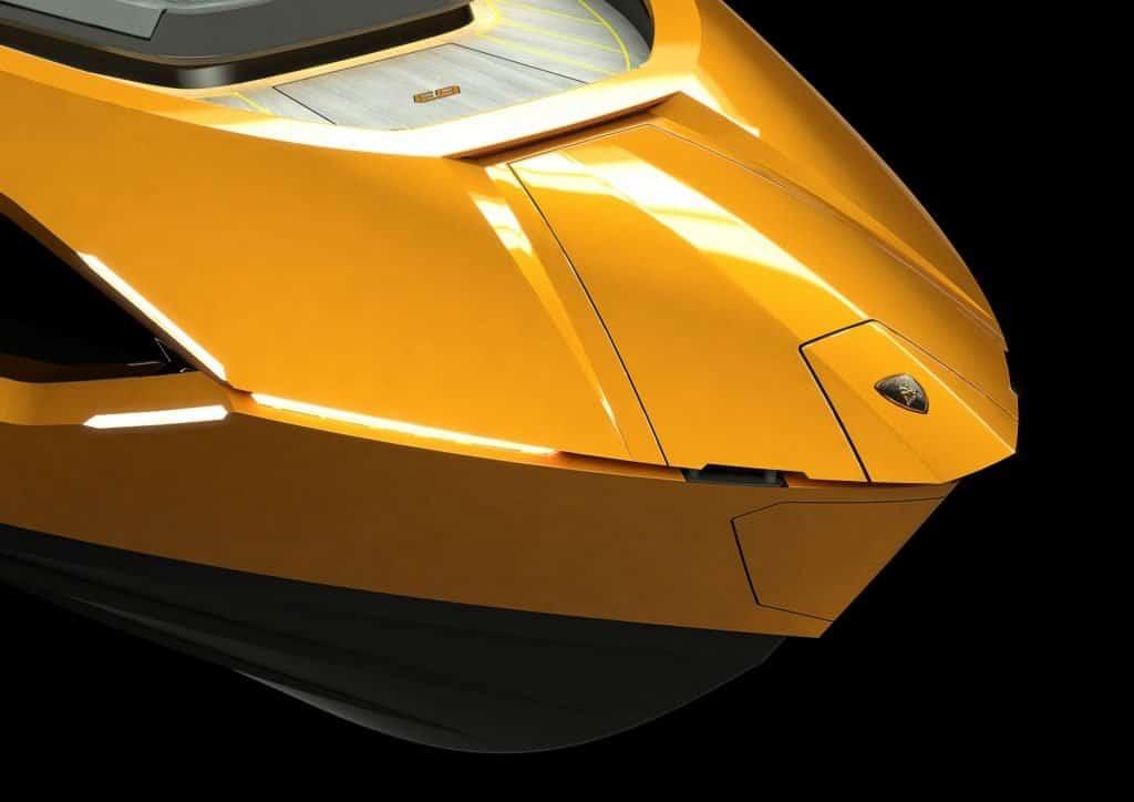 Tecnomar Lamborghini Nose Orange 01
