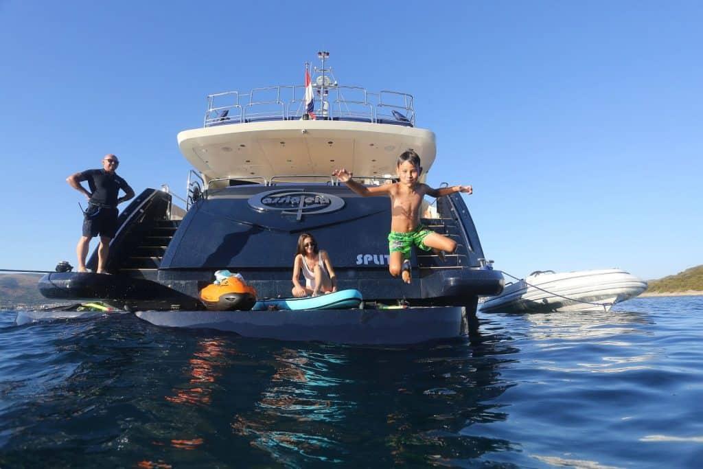Kids Enjoying In The Adriatic 01