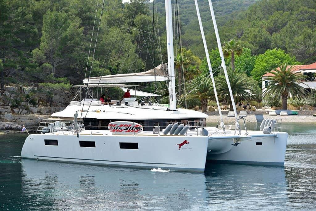 Lagoon 620 Anchor Croatia 01