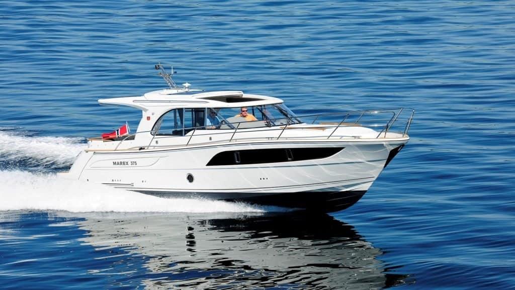 Marex 375 Cruising 01