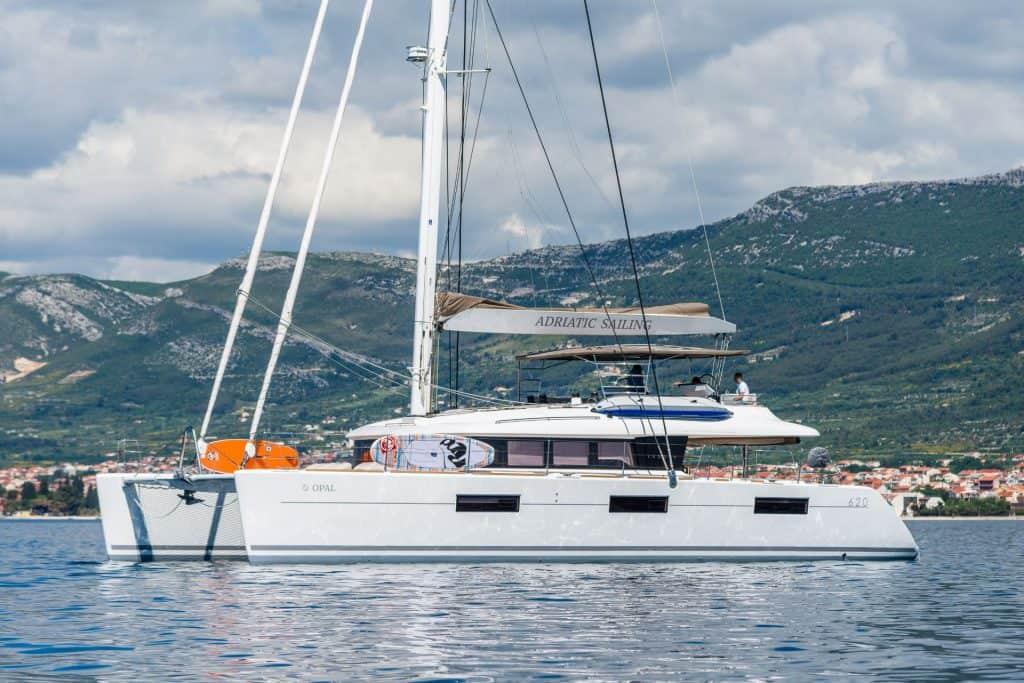 boat anchor in Croatia