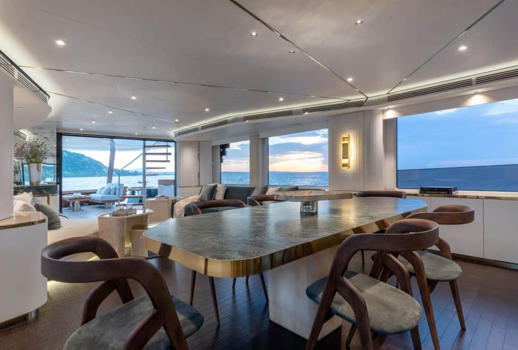 Italian Yacht Luxury Interior 01