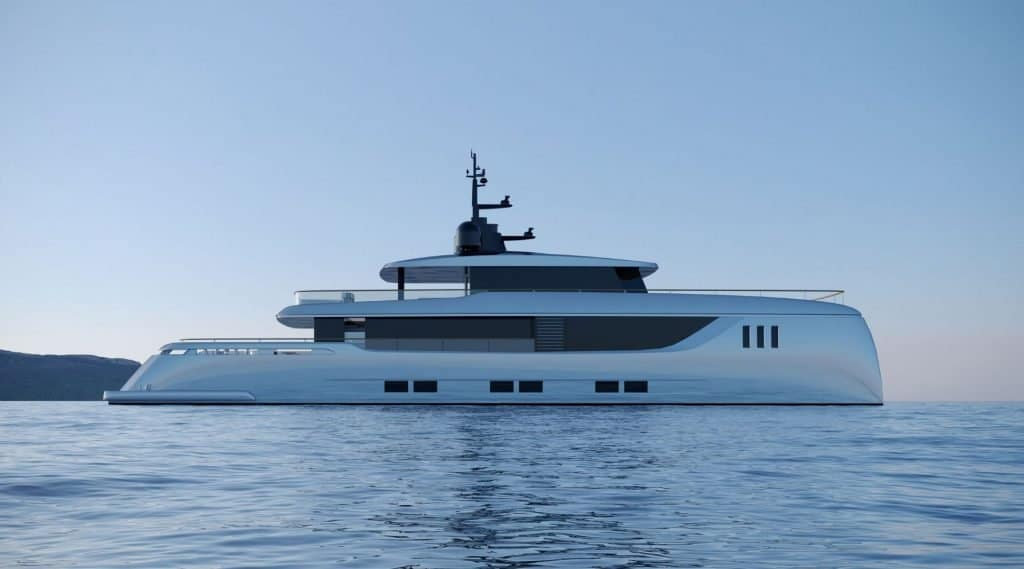 40M Sunreef Explorer Side View 01