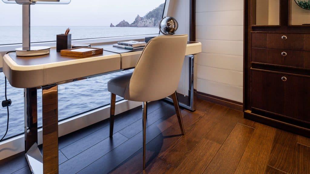 motor yacht interior