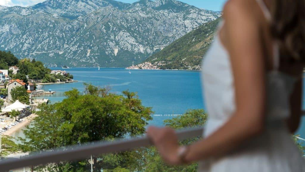 Blue Kotor Bay Sea View Montenegro 01