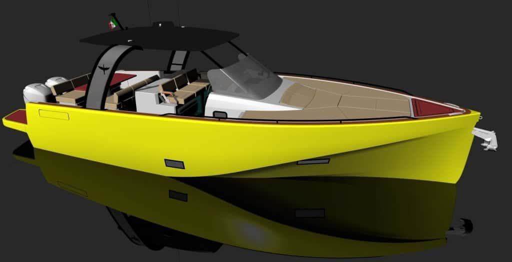 Heron 38 yellow