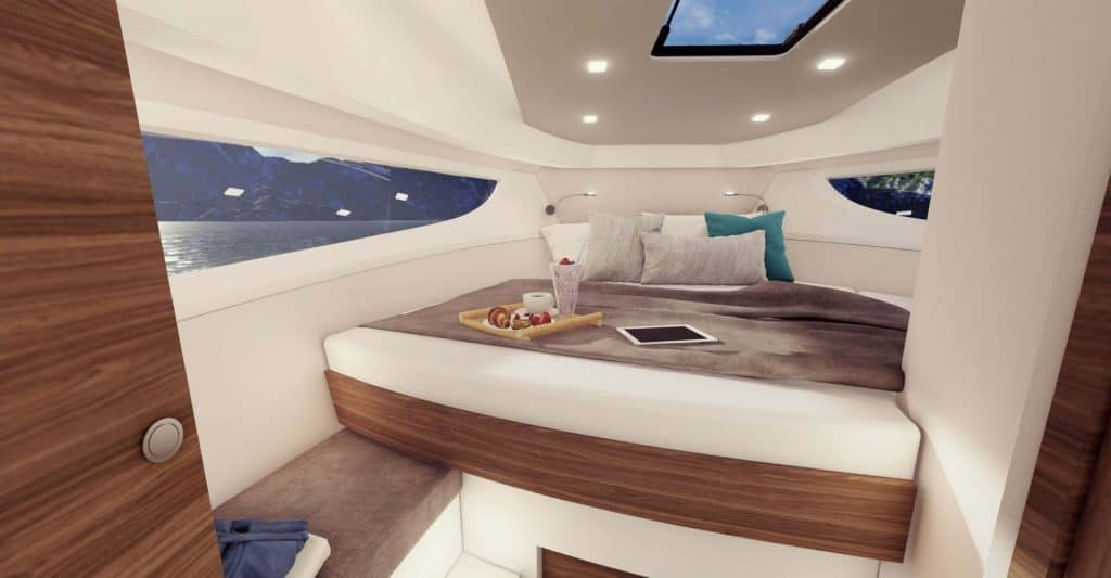 Marex 330 Scandinavia Owner Cabin 01