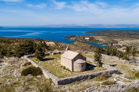 Brač Island Croatia view