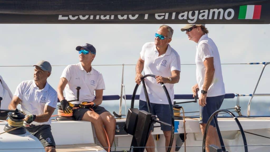 Leonardo Ferragamo Nautors Swan Sailing 01