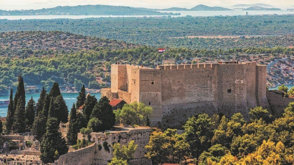 tvrđava šibenik Sveti Mihovil