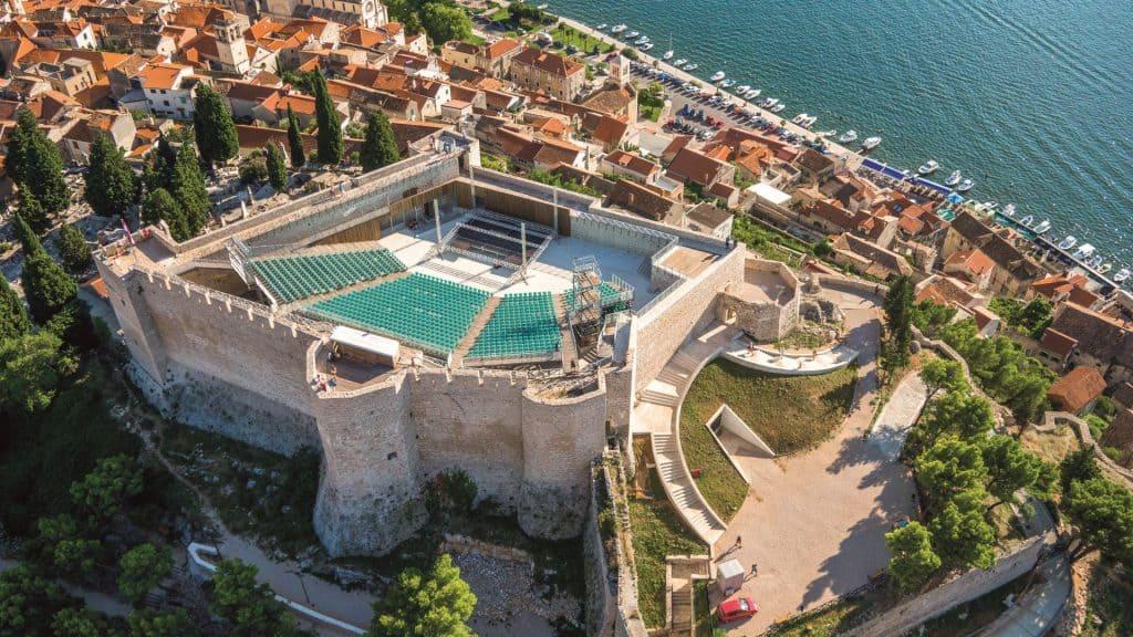 šibenske tvrđave - Tvrđava sv. Mihovila
