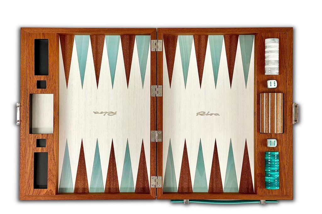 This is photo of a Riva Experience Collection Backgammon