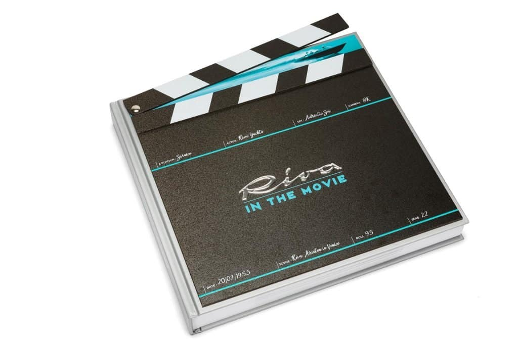 This is photo of a Riva Experience Collection Riva in the Movie Book