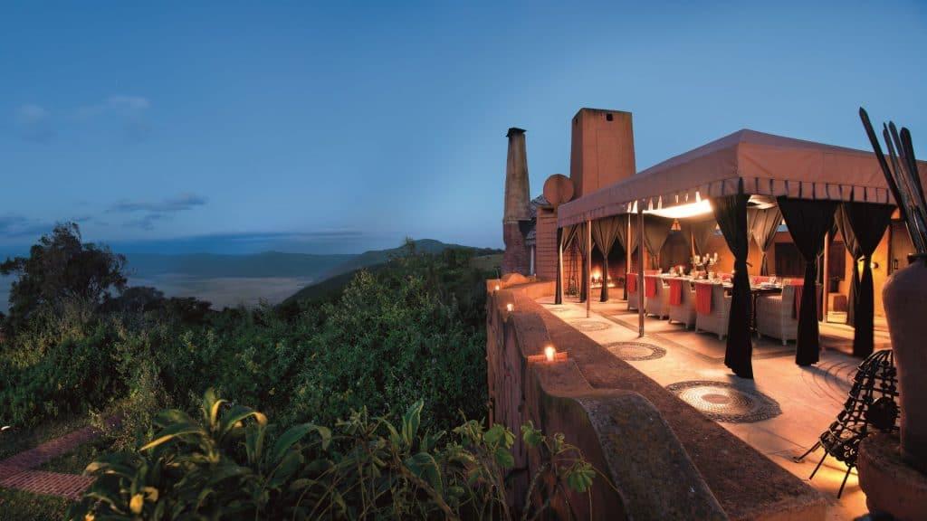 AndBeyond Ngorongoro Terasa 01