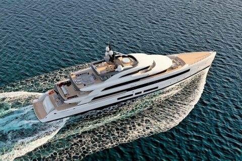 This is a photography of Benetti FB 284 Cruising