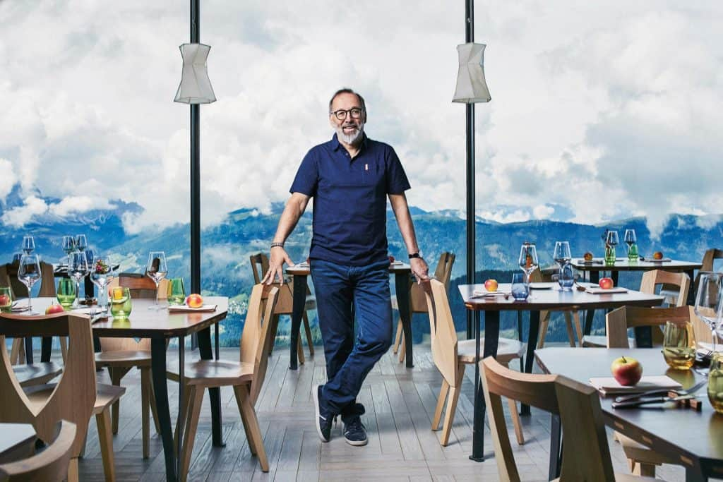 Ovo je fotografija Chef Norbert Niederkofler AlpiNN