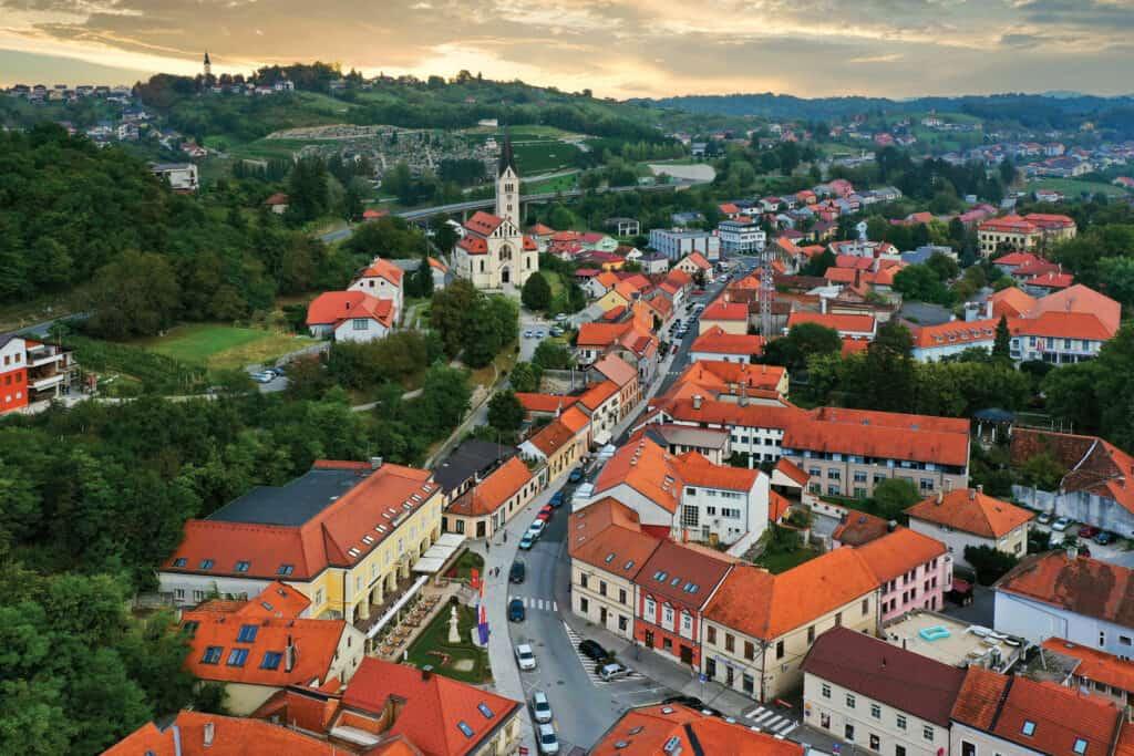 Ovo je fotografija grada Krapina