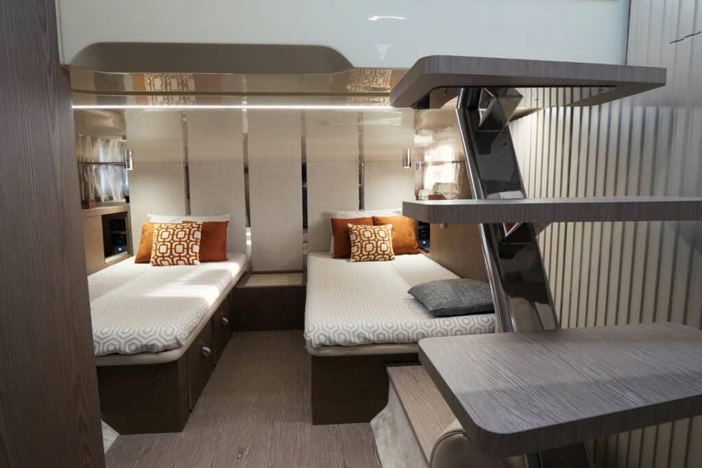 This is photo of a Invictus TT460 Cabin Interiors