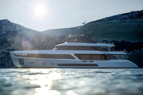 This is photo of a New Benetti Motopanfilo 37M 00